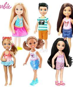 Original Mini Dolls  1 Pcs Barbie Model Random Cute Toy For Girl Birthday Children Gifts Fashion Dolls For Girls DWJ33