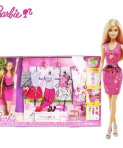 Barbie Gir Fashion Creative Designer Superhero Combo American Girll To Princess Animal Set Bonecas Barbie Doll Baby Toys DKY29