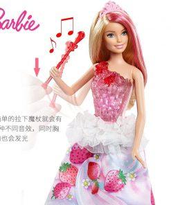 Original Barbie Doll Dream Sweet Princess With Music Light Toys Fashion Doll For Girls A Birthday Present Girl Toys Gift Bonecas 1