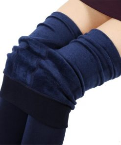 VISNXGI Hot 2018 New Fashion Leggings Women's Autumn And Winter High Elasticity And Good Quality Thick Velvet Pants Warm Legging 1