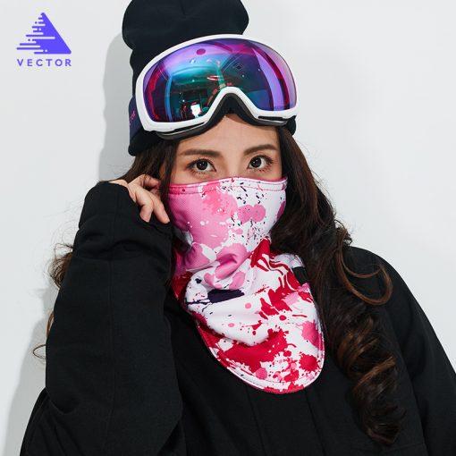 VECTOR 2018 Winter Warm Ski Snowboard Motorcycle Outdoor Sport Full Face Mask Cartoon Triangular Scarf Windproof Skiing Mask