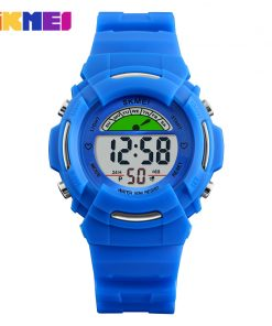 SKMEI New Sports Children Watches Fashion Alarm Watch Kids Back Light Waterproof Boy Digital Wristwatches Girl Relogio Infantil