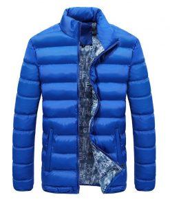 New Jacket Men 2018 Autumn Winter Cool Design Hip Hop Outwear Brand Clothing Fashion Solid Male Windbreaker Mens Jackets M-4XL 1