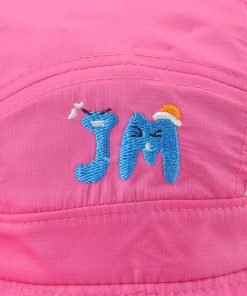 Xthree  New girls summer hat child bucket hat  kids cap baby boy cowboy hat casquette garcon 1