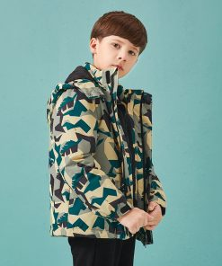 Boys Children Casual Clothes Children Boy Jacket Autumn 2018 New Fashion Mix Match Style Outerwear Lively Active Jackets For Boy 1