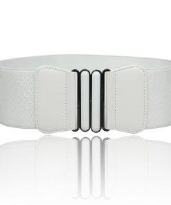 New Style Waistbands Women cummerbunds Ladies Elastic Belts black Female Wide Waistband Stretch Corset Cinch Apparel Accessories 1