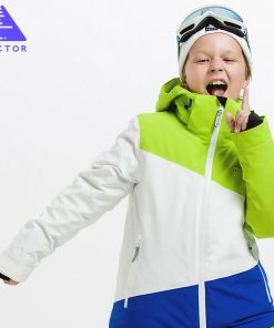 VECTOR Girls Boys Ski Jackets thermal Waterproof Kids Ski Jacket High Quality Children Winter Clothing -30 degree HXF70005 1