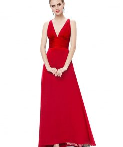 [Clearance Sale]Evening Dresses Ever Pretty HE09008 Women Sexy V-Neck Backless A-Line Sleeveless Elegant Evening Party Dresses  1
