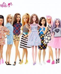 Barbie Original Dolls Brand Princess Assortment Fashionista Barbie Girl Fashion Doll Kids Toys Birthday Gift Doll bonecas  1