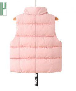 HH Children warm hooded vest Thickening windbreaker jacket waistcoat sleeveless baby girl boys vest Down Cotton coat 3 4 6 8year 1