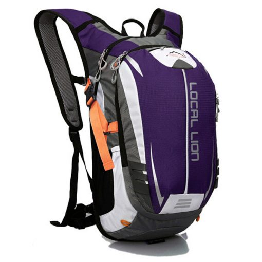LOCAL LION Outdoor Sport Backpack 18L Breathable Waterproof Bicycle Bag Hiking Climbing Hydration Carrier for Cycling Running 1