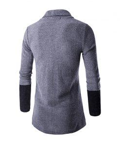 Brand New 2018 Autumn Winter Patchwork Cardigan Men 1