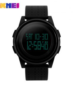 SKMEI New Arrival Fashion Casual SKMEI Brand Waterproof  Watches Women Lovers Sport Watch With Very Comfortable Soft Band 1206