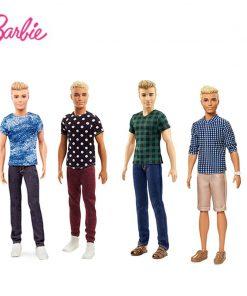 Barbie Boyfriend Ken Barbie Prince Fashionistas Doll Series Model Children Girl Christmas New Year birthday Present