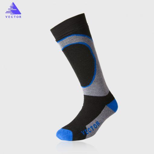 VECTOR Winter Warm Ski Socks Men Women Thick Merino Wool Socks Thermal Winter Sports Snowboard Soccer Cycling Skiing Socks 3