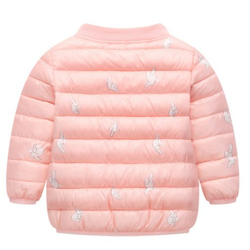 HH Toddler Girls winter coat Children Infant Baby Coat Clothes Boys Cotton Padded Jacket Warm snowsuit kids parka Dropshipping 4