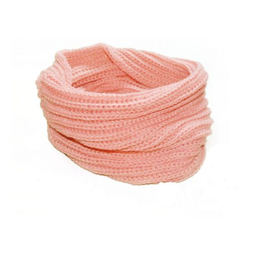 VISNXGI 2018 Winter Fashion Womens Warm Scarves Knit Neck Circle White Wool Blends Multi-purpose Wool Scarf Bufandas Hot Sale 2