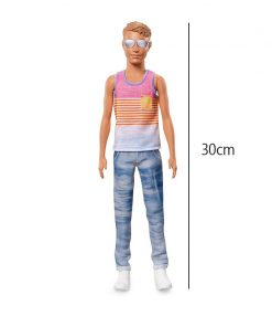 Barbie Boyfriend Ken Barbie Prince Fashionistas Doll Series Model Children Girl Christmas New Year birthday Present 1