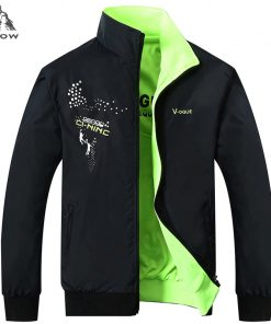 PEILOW Jacket Men Fashion Design Veste Homme Formal double Sided wear Suit Coat Solid color coat Brand Clothing L-5XL Men Jacket 1
