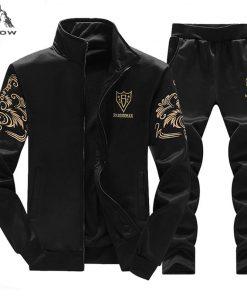 PEILOW new fashion men's sets Spring Autumn Tracksuits Men Sweatshirt Jacket Men's Suits Brand Leisure Sportswear Men's Clothing 1