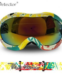 Detector Kids Double Anti-Fog UV400 Protection Ski Goggles Boys Girls Snowboard Ski Glasses Winter Snow Sports Googles 1