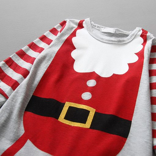 Christmas Baby girls clothes newborn pajamas baby boy winter snowsuit warm christmas romper jumpsuit santa claus baby costume  5