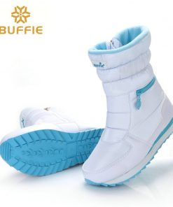 white winter boots women fashion snow boots new style 2018 women's shoes Brand shoes high quality fast free shipping girlw boots 1