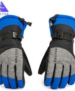VECTOR Women Men Ski Gloves Snowboard Gloves Snowmobile Motorcycle Riding Winter Gloves Windproof Waterproof Unisex Snow Gloves  1