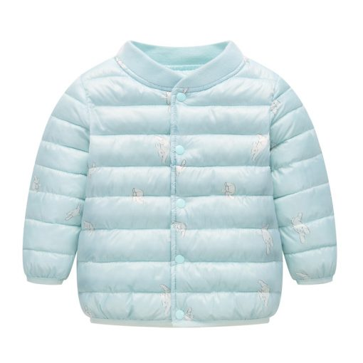 HH Toddler Girls winter coat Children Infant Baby Coat Clothes Boys Cotton Padded Jacket Warm snowsuit kids parka Dropshipping 2