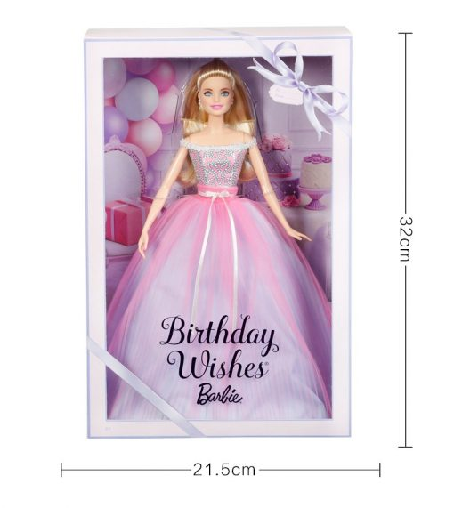 Barbie 2017 New Style Blessing Collector's Edition Pink Birthday Girl Toy Princess Birthday GiftToys Boneca Juguetes DVP49 1