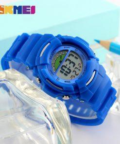 SKMEI New Sports Children Watches Fashion Alarm Watch Kids Back Light Waterproof Boy Digital Wristwatches Girl Relogio Infantil 1