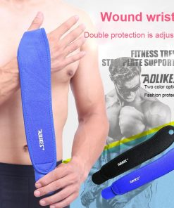 1PCS Gym Wrist Bands Sports Wristband Wrist Support Straps Wraps for Weight Lifting Munhequeira Protector 1