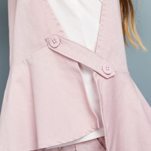 Balabala 3pcs/set girls clothing set cotton toddler girl clothes suit costume Solid preppy style tshirt + leggings + vest sets 4