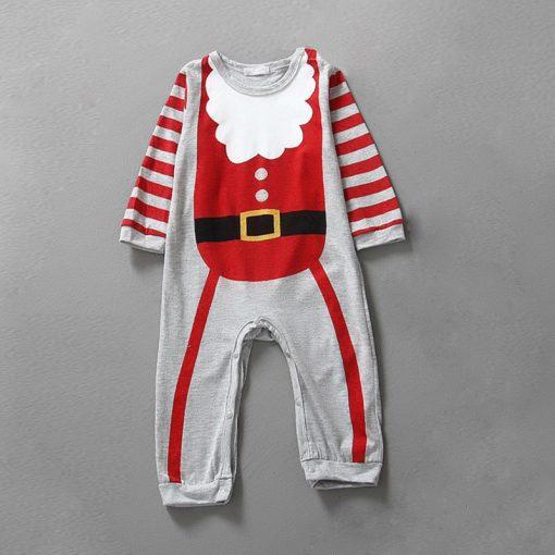 Christmas Baby girls clothes newborn pajamas baby boy winter snowsuit warm christmas romper jumpsuit santa claus baby costume  3