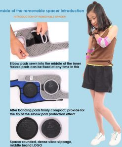 Kids Protection Shockproof Sponge Elbow Support Pads Depressurized Children Dance Sport Elbow Brace Keep Warm Protector 1