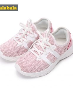 Children Sneakers Lighting Kids Shoes For Girls Non-Slip Wear-Resistant Girl Child Sports Shoes Wholesale Breathable Lightweight