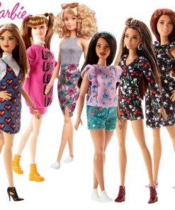 Barbie Original Dolls Brand Princess Assortment Fashionista Barbie Girl Fashion Doll Kids Toys Birthday Gift Doll bonecas