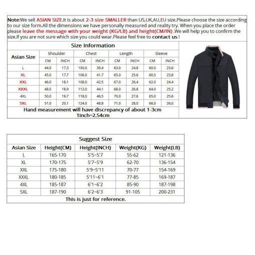 NaranjaSabor 2018 Spring Men's Jackets Men Casual Coats Men's Slim Windbreaker Brand Clothing Male Baseball Coats Outwear 5XL 5