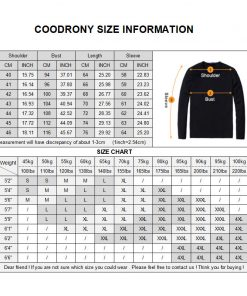 COODRONY T Shirt Men 2018 Autumn Casual All-match Long Sleeve O-Neck T-Shirt Men Brand Clothing Soft Cotton Tee Shirts Tops 8617 1