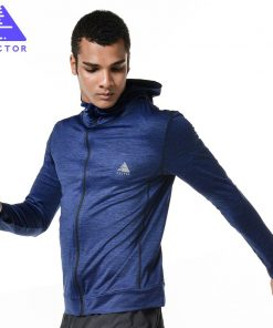 VECTOR Brand Running Jacket Men Breathable Quick-drying Running Jersey Windproof Coat Outdoor Sports Hiking Run Hooded  XXF30004 1