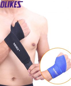 1PCS Gym Wrist Bands Sports Wristband Wrist Support Straps Wraps for Weight Lifting Munhequeira Protector