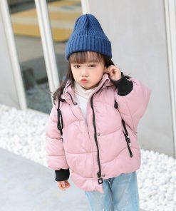 HH Winter jacket for boy snowsuit Cartoon sheep hooded coat kids down jacketts parka girl children's winter jackets Outerwear 1