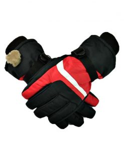 Winter Cashmere Eldiven Erkek Professional Guantes Esquiar Gloves Men Waterproof Gloves Male Christmas Snow Windproof Glove G056 1