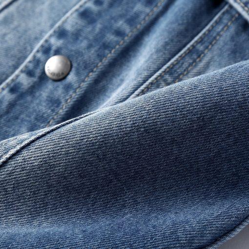 Balabala cotton jeans jacket for boys jacket for boy spring-autumn pattern on the back Hooded jacket clothes for boys enfant 4