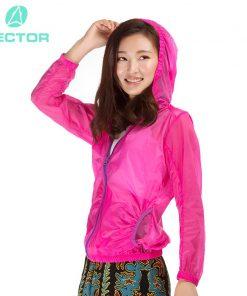 VECTOR Windproof Waterproof Outdoor Coat Women Summer Jacket Ultralight Outdoor Clothing Hiking Running Sport Jacket 80006 1