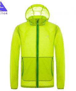 VECTOR Brand Ultralight Waterproof Jacket Summer UV Sun Protection Outdoor Coat Men Women Sport Running Fishing Hiking 60033 1