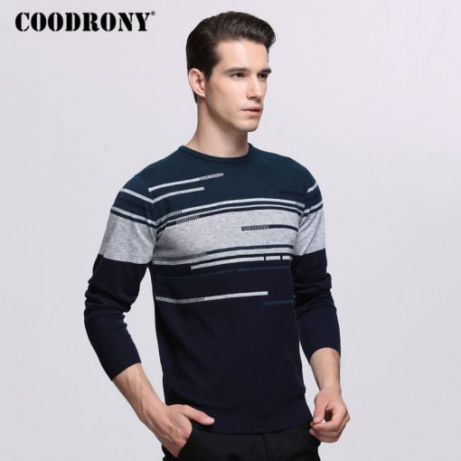 COODRONY Sweater Men Brand Clothing Mens Sweaters For 2018 Autumn Winter Casual O-Neck Pull Homme Cashmere Wool Pullover Men 229 2