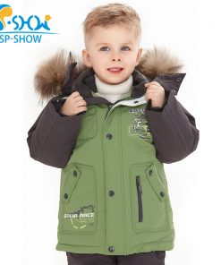 SP-SHOW Luxury Brand Children Winter  Children's suit Jacket Boy and Girl Coats Kids Clothing Sets Ski Down & Parkas 0167 1