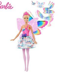 Barbie Original Brand Rainbow Lights Mermaid Doll Feature Mermaid Barbie Doll The Girl A Birthday Present Girl Toys Gift Boneca 1