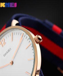 SKMEI Lovers' Quartz Watches Luxury Men Women Fashion Casual Watch 30M Waterproof Simple Ultra-thin Design Wristwatches 1181 1